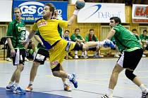 VZPOMÍNKA. V minulé sezoně se Dukla se Zubřím střetla čtyřikrát se smírnou bilancí 2:2. V duelu 11. kola základní části se pěti brankami blýskl křídelník Jakub Kastner.
