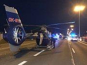 Tragická nehoda ve Strakonické ulici v Praze zablokovala dopravu.