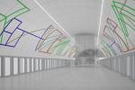 Vítězný návrh podoby stanice Nové Dvory na nové lince metra D je od Stanislava Kolíbala.