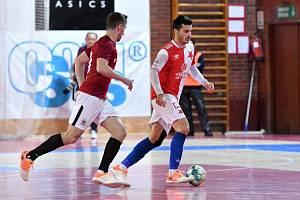 Futsalové derby Slavia - Sparta.