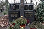 Olšanské hřbitovy, hrob Rudolfa Hrušínského.