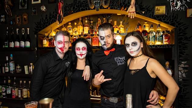 Prague Fear House. Bar.