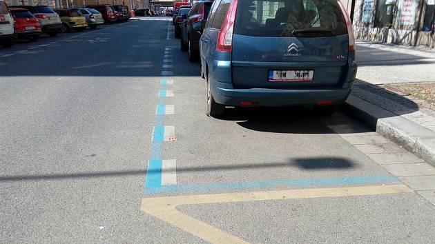 Parkovací zóny.