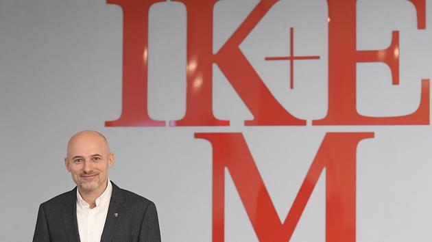 Ředitel Institutu klinické a experimentální medicíny (IKEM) Michal Stiborek.