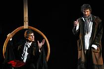 KAM HO VEDE? Vojtěch Dyk (vlevo) v hlavní roli Kudykama a Marek Holý (vpravo) v roli Martina.