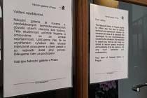 Národní galerie v Praze musela 25. února nečekaně zavřít všechny své budovy. Důvodem jsou podle oficiálního prohlášení neočekávané technicko-provozní důvody.