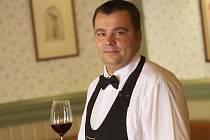 Sommelier vinařství Spielberg Martin Žůrek.