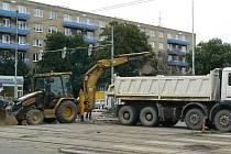 V pražských Vršovicích začala 22. července 2011 dvoutýdenní výluka tramvají.