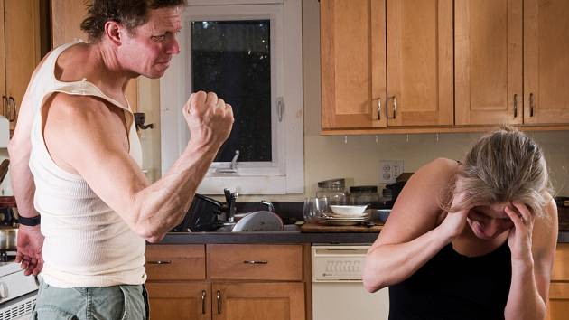 Domácí násilí. Ilustrační foto.