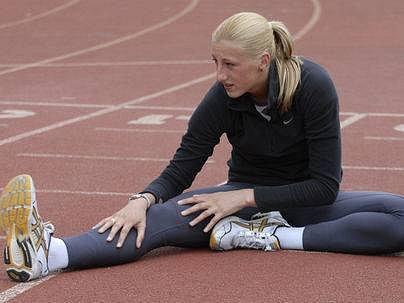 Tereza Straková, atletka.