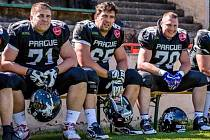 Miroslav Kysilka (vlevo) se svými parťáky z Prague Black Panthers.