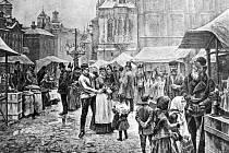 Ještě na začátku 20. století na Staroměstském náměstí žádný stromek o Vánocích nestál, dnes je to již neodmyslitelná tradice.