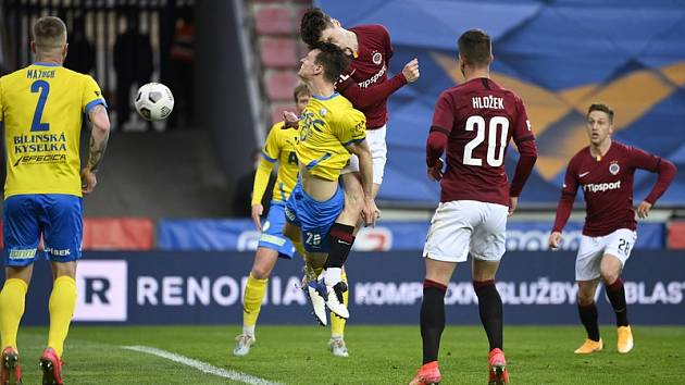 Devět gólů padlo v zápase Sparty s Teplicemi. Pražané se trefili sedmkrát.