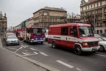 Policie vyklidila 22. prosince stanici metra I. P. Pavlova kvůli nálezu poderzřelého batohu.