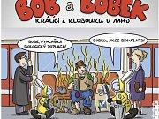 Bob a Bobek tvářemi kampaně DPP. Vyzývají ke slušnosti a bezpečnosti v pražské MHD.