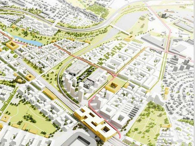 Budoucí podoba lokality Bohdalec - Slatiny.