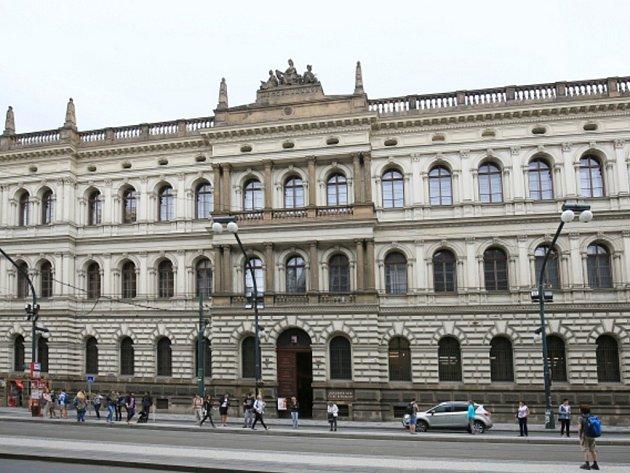 Sídlo Akademie věd České republiky.