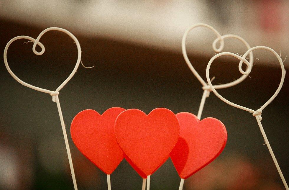 Ilustrační foto - Valentýn, svátek, zamilovaní, láska