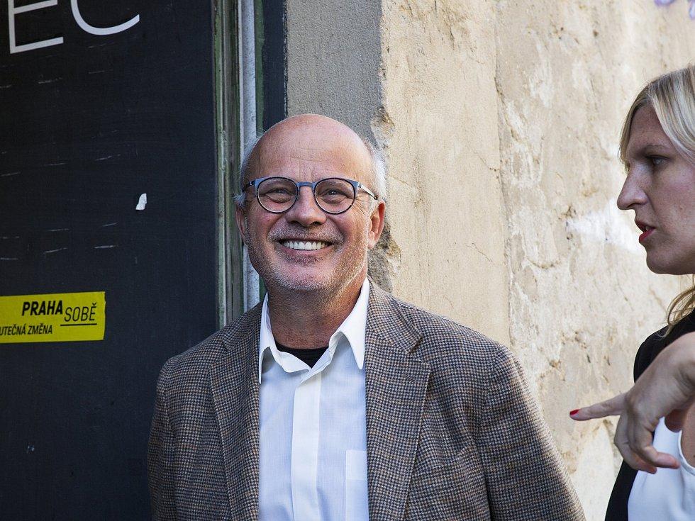Volební štáb Praha sobě, 6.10.2018
