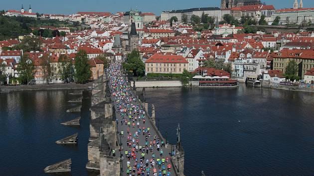 Volkswagen Maraton 2016 v Praze.