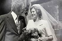 Na staroměstské radnici se ženil Jaroslav v pětasedmdesátém roce.