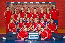 Český národní juniorský tým pozemních hokejistek.