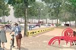 Žižkovo náměstí. Vizualizace. Ateliér Flera