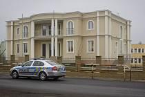 Situace okolo ambasády a rezidence palestinského velvyslance, 2. ledna, v Praze – Suchdole