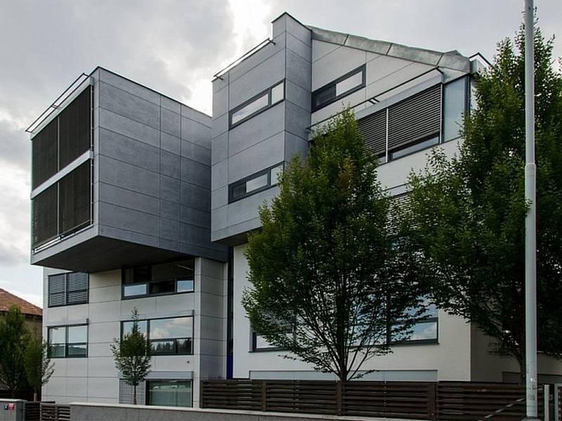 Administrativní budova v Čerčanské ulici v Praze 4.