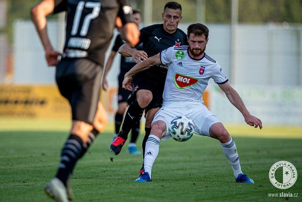 Příprava 2020 v Rakousku: Slavia - Fehérvár 3:1.