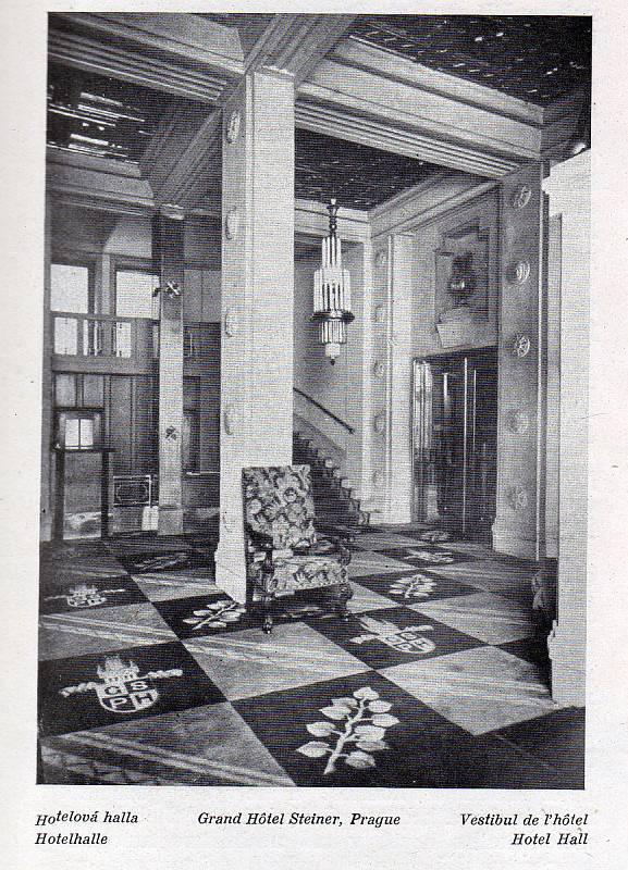 Grand Hotel Bohemia.