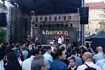 Zahájení festivalu Khamoro 2019 v Kasárnách Karlín..
