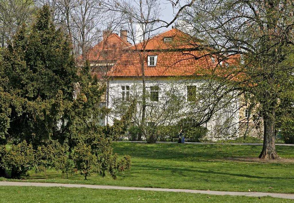 Werichova vila na malostranské Kampě.