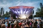 Z festivalu Lucerna Music Bar Open Air.