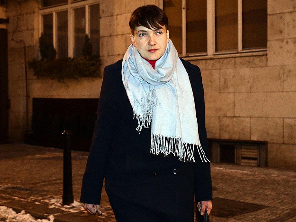 Nadija Savčenková.