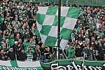 Zápas 10. kola fotbalové Fortuna ligy mezi Bohemians Praha 1905 a FC Fastavem Zlín v Ďolíčku skončil remízou 2:2