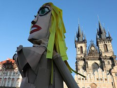 Sametové posvícení 2018. 7.ročník tradičního satiricko - karnevalového průvodu městem ulicemi Prahy v Den boje studentů za svobodu a demokracii, 17.listopadu.