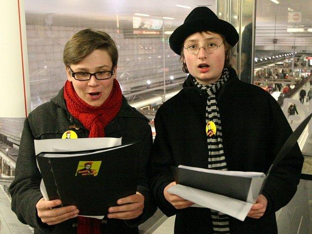 Z pražských stanic metra se staly koncertní síně