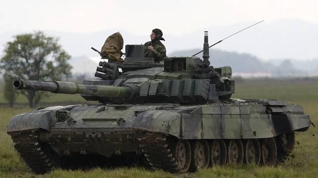 Tank T-72M4CZ. Ilustrační foto.