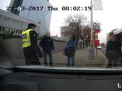 Napadení řidiče autobusu.