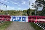 Po požáru v zahrádkářské osadě bylo nalezeno ohořelé lidské tělo.