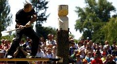 V O2 Žlutých lázních se 24. května 2009 konalo mistrovství České republiky v dřevorubeckých řemeslech Stihl Timbersports.