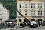 V Praze pokračuje natáčení špionážního thrilleru Gray Man s Ryanem Goslingem a Chrisem Evansem v hlavních rolích. Jde o nejdražší projekt streamovací služby Netflix.