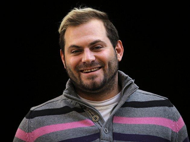 Herec Daniel Koťan.