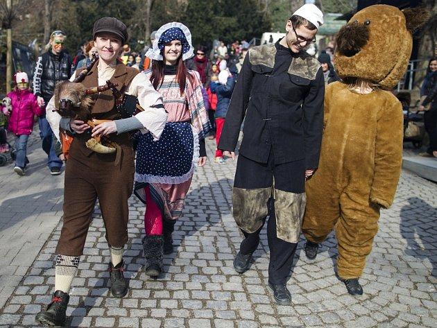 Masopust v Zoologické zahradě v Praze je již tradiční akcí, která láká děti i dospělé.