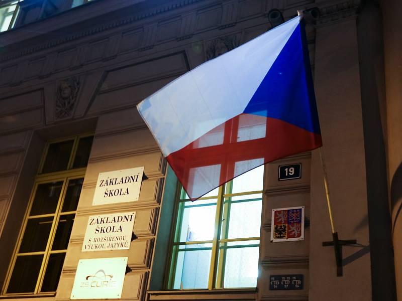 Volby do Poslanecké sněmovny Parlamentu České republiky v Základní škole Curieových v Praze.