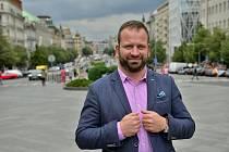 Předseda Sdružení Nového Města pražského Jan Adámek.