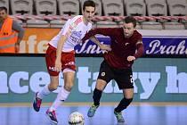 Futsalisté Slavie a Sparty