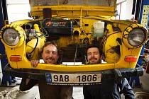 Trabant, kultovní vozítko východního bloku, se v září vydává na již třetí kontinent
