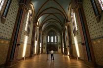 Kostel Sacre Coeur na Smíchově.